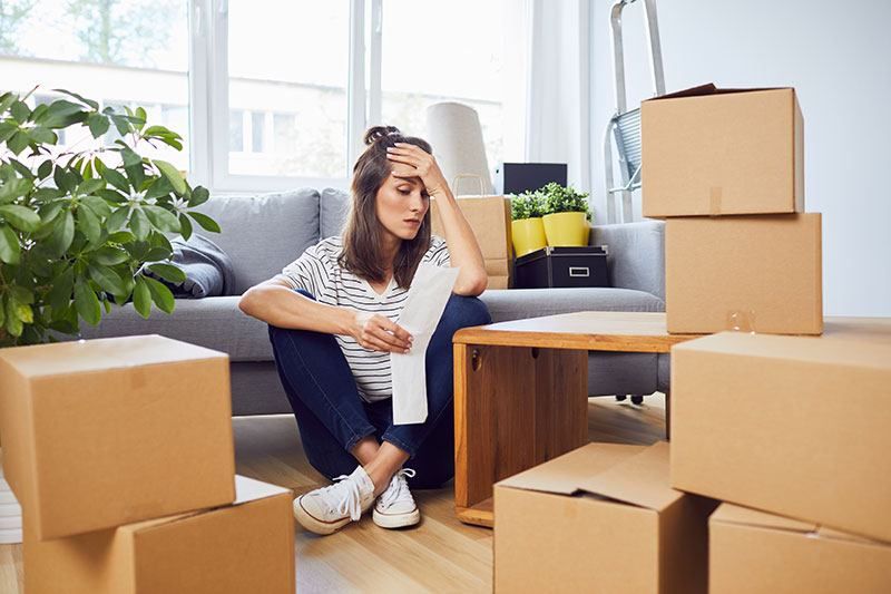 Planning out the costs of moving long distance